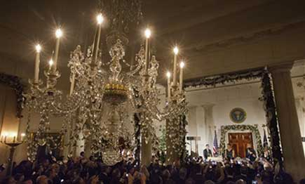 White House chandelier